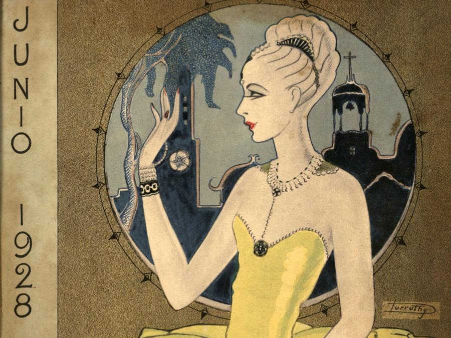2 Esperanza Durruthy. Diseño de portada. Social, La Habana, vol. XIII, n° 6, junio, 1928